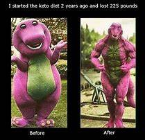 get right, barney did it, before and after, the body you want.